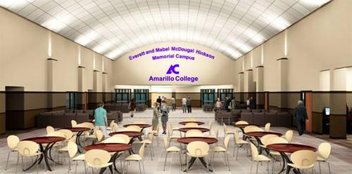 Artist rendition of the new Everett and Mabel McDougal Hinkson memorial campus