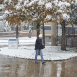 Snow blankets AC's Washington St campus