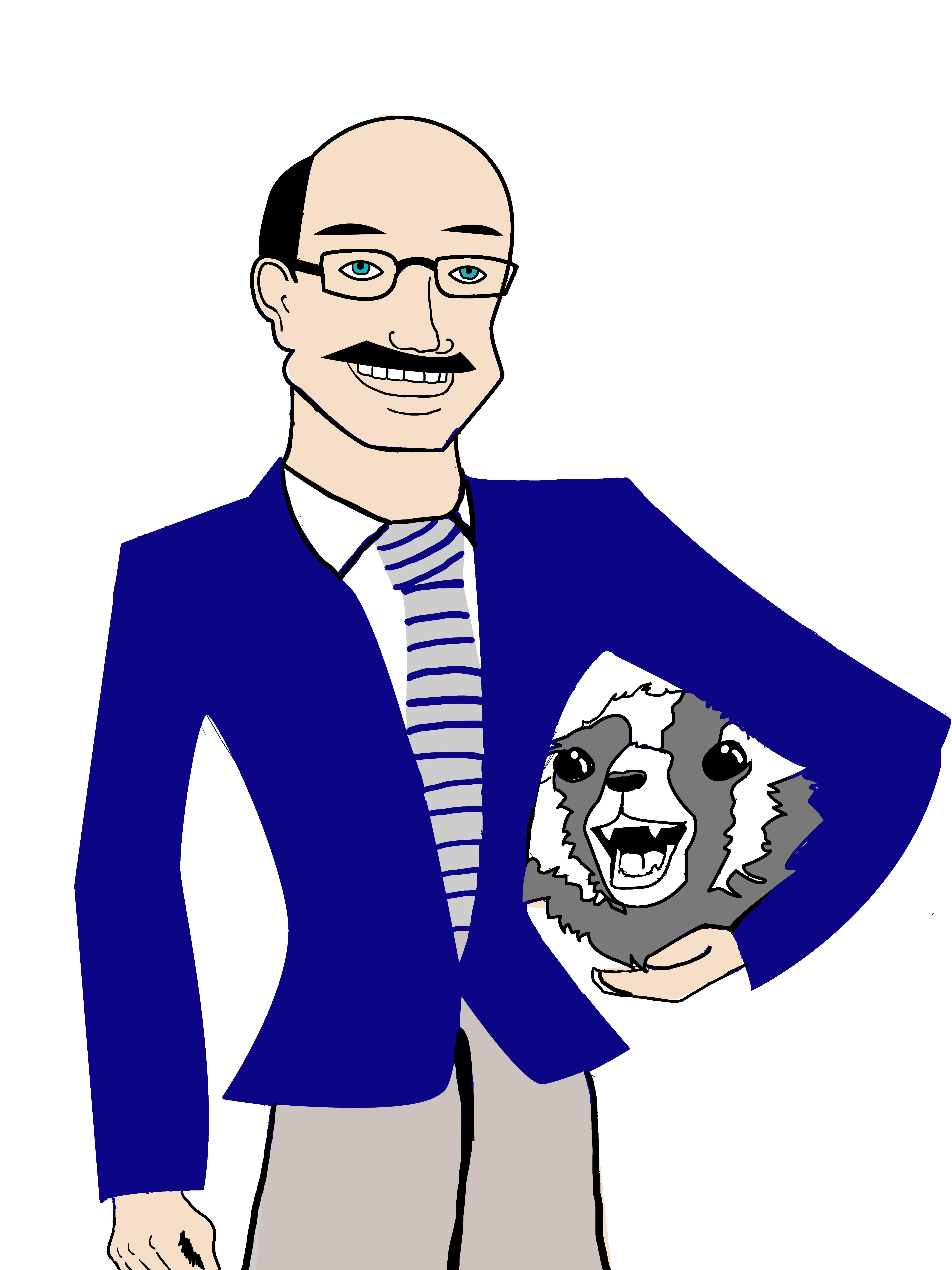 AC President Paul Matney Illustration by Stephanie Perez |
