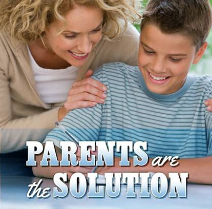 Parents are the solution