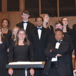 Photo by SONNET RELPH   The Ranger The AC concert choir performed April 25 at St. Andrew's Episcopal Church.