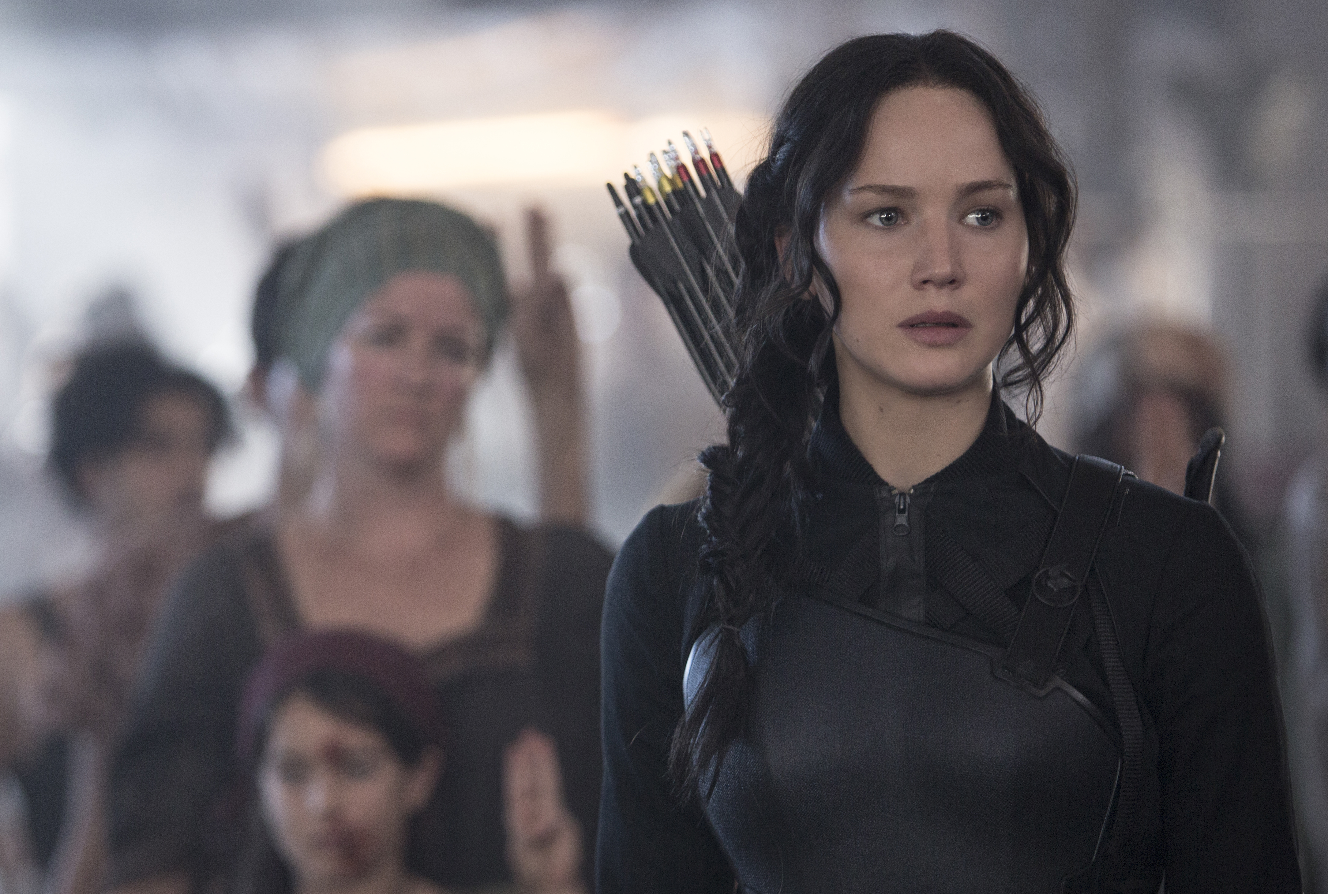 Photo Credit: Murray Close Jennifer Lawrence stars as 'Katniss Everdeen' in THE HUNGER GAMES: MOCKINGJAY – PART 1.