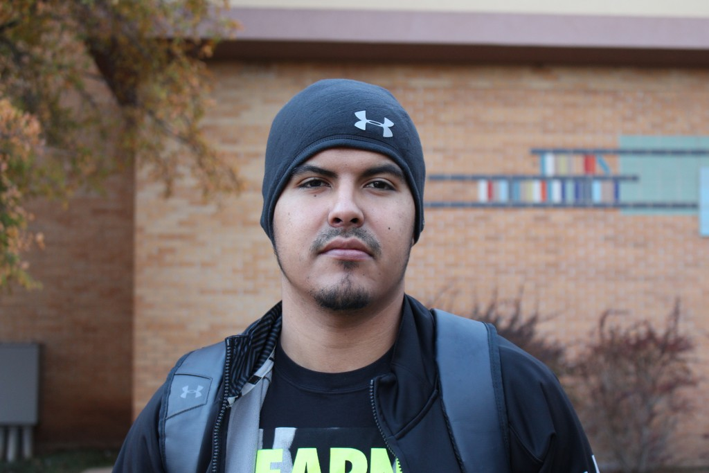 "Alex Ramos | General studies major ""Whatever the faculty thinks is appropriate for the campus is fine by me."""