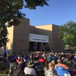 COURTESY PHOTO About 700 people attended each of the four free jazz concerts this summer. Performers included Jim Laughlin, with Austin Brazille on June 7, The Martins on June 14, Polk Street Jazz on June 21 and Patrick Swindell on June 28.