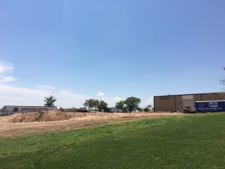East Campus construction