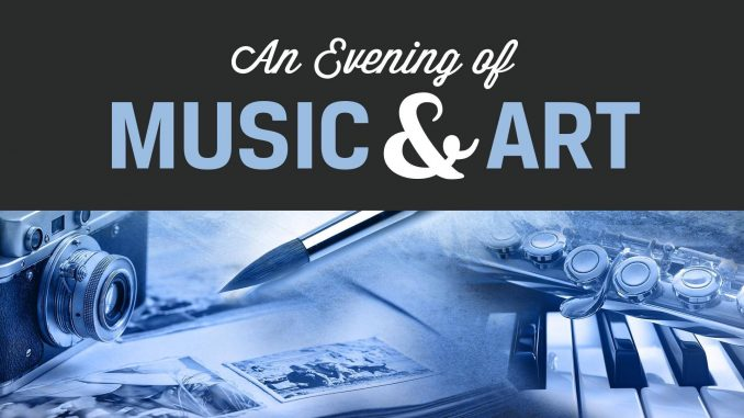 an evening of music and art