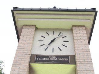 AC clock tower
