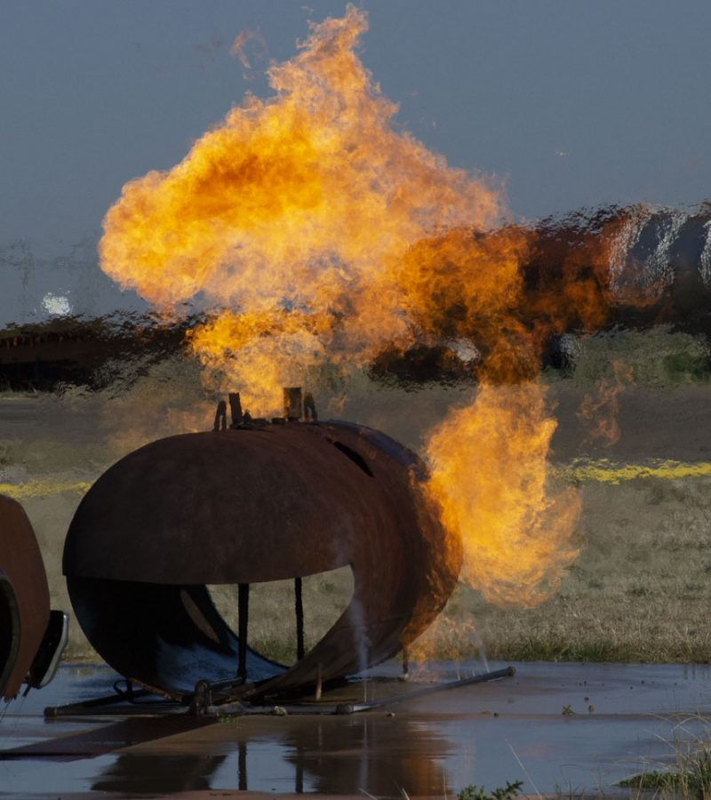 propane burn