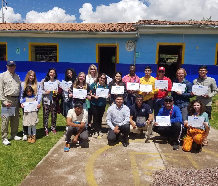 Peru Challenge group