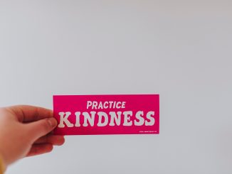 Practice kindness sticker