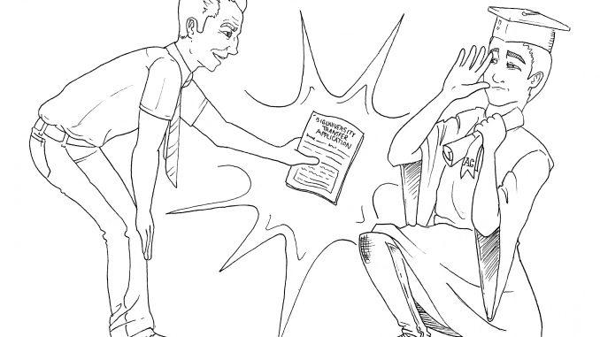 graduate editorial cartoon