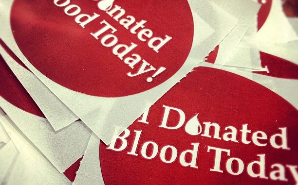 donation stickers