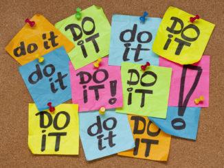 Sticky Notes with Do it on them