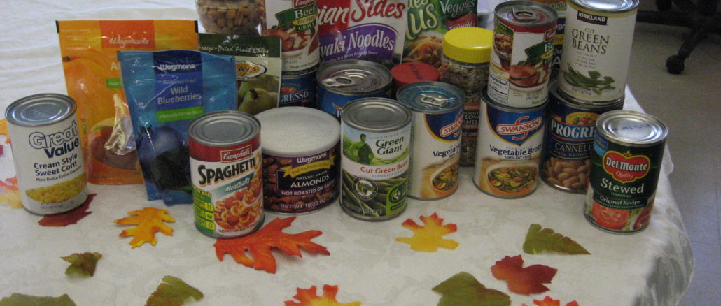 Food drive table