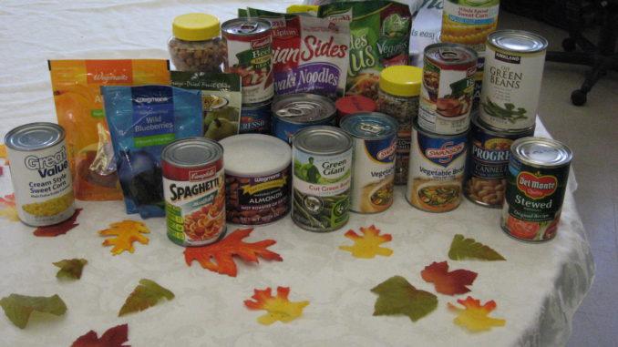 Food drive table
